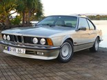 1988 BMW 635 CSi - today's Euro tempter