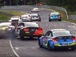Big crashes at the Nurburgring!