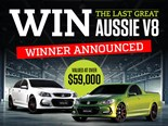 Holden SS-V Redline giveaway winner revealed!