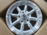 New Superlite Wheels for Morley's VC Commodore Hillclimber