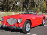 1955 Austin Healey 100 BN2 – Today's British Sports Car Tempter