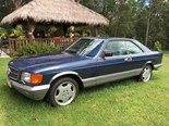 Mercedes-Benz 380SEC - today's cheap V8 tempter