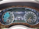 Bentley dash display