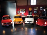 BMW 2002 + Alfa Romeo Giulia Sprint GT + Ford Escort + Porsche 911T - Four Hot Euros