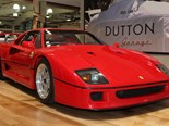 Three amazing Ferraris at Dutton Garage