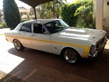 1970 XW Ford Fairmont GS - today's muscle car tempter