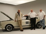 Shelby's Original Venice Crew lay down a charity challenge to Jaguar and Aston Martin