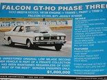 Million dollar roller coaster - Ford Falcon GTHO Phase III