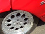 Alfa Romeo SZ wheel refurbishment - Our Shed