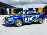 Richard Burns' 2000 WRC Subaru Impreza for sale