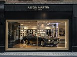 Aston Martin Works Heritage showroom opens in Mayfair London