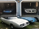 Two 'barn find' 1970 Plymouth Road Runner Superbirds on eBay