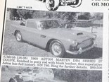 Aston Martin DB4 + Porsche 912 + Lancia Flaminia - Ones That Got Away 419