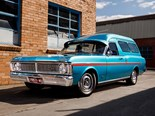 1971 Ford XY Falcon Panel Van - Reader Resto