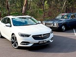 1979 Holden Kingswood + 2018 Commodore: Old vs new
