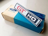 1972 XA GT-HO Phase 4 console badge on eBay