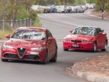 Alfa Romeo Giulia QV and SZ