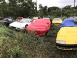How one man's treasured Ferrari collection ended up abandoned
