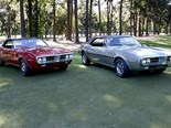 First two Pontiac Firebirds ever, fail to sell as a pair