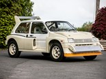 "1985 MG Metro 6R4 Group B: ""as-new"" never registered car for auction"