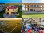 Texas home for sale offers six-car garage, and access to a 1.7 mile racetrack