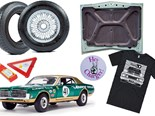 Moffat Mercury model + Rolling 30 t-shirt + Hey Charger decal + more - Gearbox 430