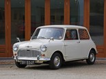 1968 Morris Minor-Mini Super Deluxe with just 272 miles for sale