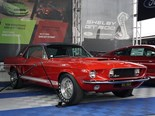 The only Shelby GT500 Notchback restored after almost 50 years lost