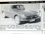 Honda S800 coupe + Pontiac Fiero + Mustang Grand 429 - Ones That Got Away 437