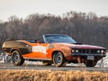 1-of-2 Cuda 440 Convertibles heads to auction after decades locked away