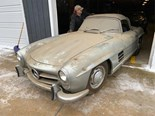 Barn find Mercedes-Benz 300SL convertible sells for AU$1.7m