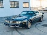 Burt Reynold's 1977 Pontiac Trans Am achieves sensational auction result