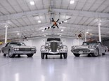 Trio of factory-built stainless steel Fords for auction