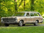 One-off Ford Country Squire with factory 428 V8 sold at auction