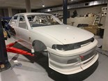 Craig Lowndes' first HRT Commodore undergoes restoration