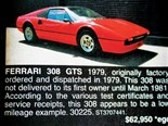 Ferrari 308GTS + 1973 XA Fairmont + 1974 HJ Monaro GTS - Ones That Got Away 442