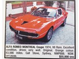 Alfa Romeo Montreal + Ford TE50 + HSV VR Senator - Ones That Got Away 443
