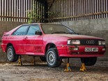 Barn find Audi Quattro sells for AU$30,000