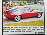 Porsche 928 + Ford Falcon XE + Nissan R32 GT-R - Ones That Got Away 444