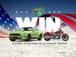 Win a Ford Mustang GT & Indian Scout with Shannons