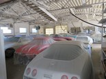Inventor of the jumping castle's 140-piece car collection for auction