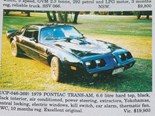 Pontiac Trans Am + Daimler SP250 + Aston Martin DBS V8 - Ones That Got Away 449