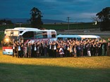 Past and present employees, industry partners and suppliers gathered to mark the occasion of Crown Coaches 50th birthday