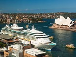 There is concern that charter coach operators will miss out on business, unless a major investment is made to Sydney Harbour to accommodate large cruise ships