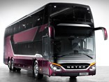 The new Setra S 531 DT 78-seat double-decker bus has just been released in Germany