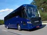 Scania Touring coach unveiled