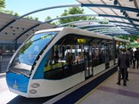 A foreign company seems strongly tipped to win a Brisbane Metro vehicle-manufacturing contract (Pic: Artist's impression - Brisbane City Council).
