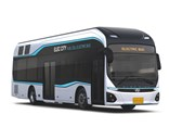 Hyundai is reviewing plans for mass production of hydrogen fuel cell buses by 2020, it says.