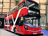 Wrightbus showcased its non-prototype fuel-cell double-decker bus – the world's first – at the 2018 Euro Bus Expo.