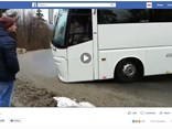 Entitled Oupsss... uploaded by ZygoMatik, the coach crash video makes for interesting commercial transport viewing.